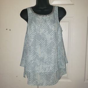 Juicy Couture Rhinestone Shirt Top Size Small